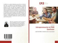 Portada del libro de Intrapreneuriat et PME familiale: