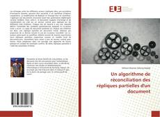 Couverture de Un algorithme de réconciliation des répliques partielles d'un document