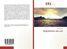 Bookcover of Degradation des sols