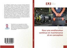 Bookcover of Pour une amélioration continue en maintenance et en conception