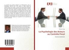 Capa do livro de La Psychologie des Acteurs au Contrôle Fiscal