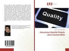 Assurance Qualité Projets dans l'automobile kitap kapağı