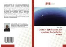 Capa do livro de Etude et optimisation des procédés de distillation solaire