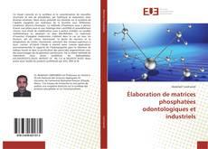 Portada del libro de Élaboration de matrices phosphatées odontologiques et industriels