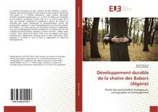 Обложка Développement durable de la chaîne des Babors (Algérie)