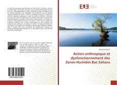 Обложка Action anthropique et dysfonctionnement des Zones Humides Bas Sahara