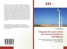 Обложка L'impacte d'un parc éolien sur l'environnement au sud Algérien