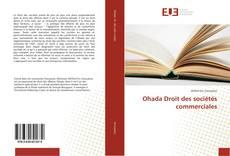 Bookcover of Ohada Droit des sociétés commerciales