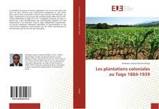 Les plantations coloniales au Togo 1884-1939的封面