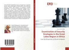 Bookcover of Examination of Security Strategies in the Great Lakes Region in Africa