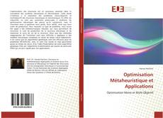 Bookcover of Optimisation Métaheuristique et Applications
