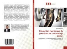 Couverture de Simulation numérique du processus de remodelage osseux