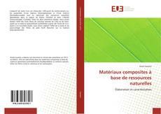Capa do livro de Matériaux composites à base de ressources naturelles