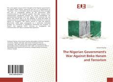 Capa do livro de The Nigerian Government's War Against Boko Haram and Terrorism