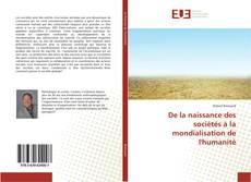 Bookcover of De la naissance des sociétés à la mondialisation de l'humanité