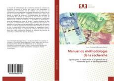 Bookcover of Manuel de méthodologie de la recherche