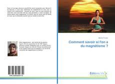 Capa do livro de Comment savoir si l'on a du magnétisme ?