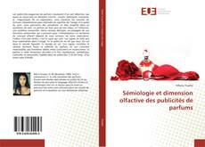 Buchcover von Sémiologie et dimension olfactive des publicités de parfums