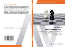 Bookcover of UWG-Novelle 2007