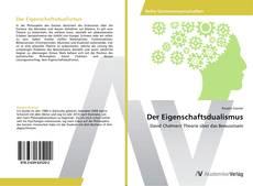 Buchcover von Der Eigenschaftsdualismus