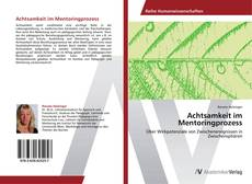 Capa do livro de Achtsamkeit im Mentoringprozess