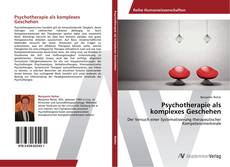 Обложка Psychotherapie als komplexes Geschehen
