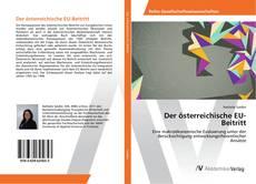 Borítókép a  Der österreichische EU-Beitritt - hoz