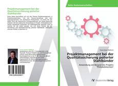 Buchcover von Projektmanagement bei der Qualitätssicherung polierter Stahlbänder