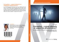 Couverture de Corruption - a great obstacle or supportive phenomenon?