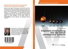 Empirische Untersuchung über den Gehalt astrologischer Symbolik的封面
