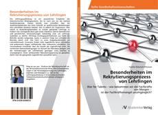 Buchcover von Besonderheiten im Rekrutierungsprozess von Lehrlingen