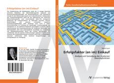 Buchcover von Erfolgsfaktor (en im) Einkauf