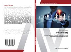 Bookcover of Post-Privacy