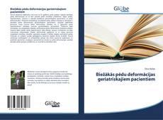 Biežākās pēdu deformācijas geriatriskajiem pacientiem kitap kapağı