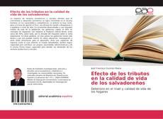 Portada del libro de Efecto de los tributos en la calidad de vida de los salvadoreños