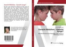 Capa do livro de Gerecht Mädchen - Gerecht Junge?