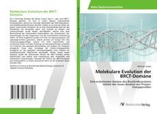 Borítókép a  Molekulare Evolution der BRCT-Domäne - hoz
