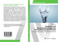 Portada del libro de Chancen und Herausforderungen der Stromversorgung in Nepal