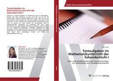 Bookcover of Textaufgaben im Mathematikunterricht der Sekundarstufe I