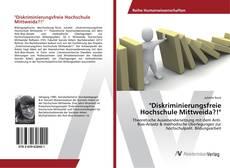 """Bookcover of """"Diskriminierungsfreie Hochschule Mittweida?!"""""""