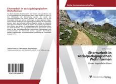 Portada del libro de Elternarbeit in sozialpädagogischen Wohnformen