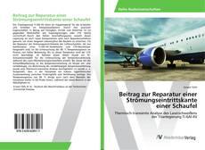 Bookcover of Beitrag zur Reparatur einer Strömungseintrittskante einer Schaufel