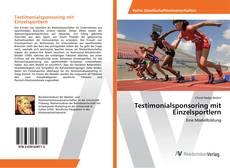 Bookcover of Testimonialsponsoring mit Einzelsportlern