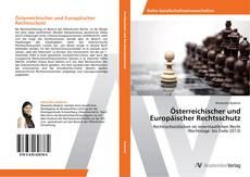 Buchcover von Österreichischer und Europäischer Rechtsschutz