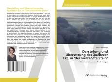 """Buchcover von Darstellung und Übersetzung des Québecer Frz. in """"Der vierzehnte Stein"""""""