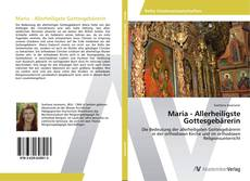 Buchcover von Maria - Allerheiligste Gottesgebärerin