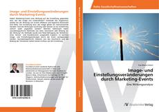 Bookcover of Image- und Einstellungsveränderungen durch Marketing-Events