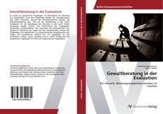 Buchcover von Gewaltberatung in der Evaluation