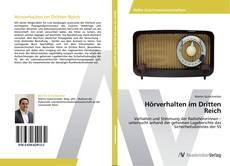 Hörverhalten im Dritten Reich kitap kapağı