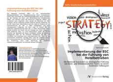 Bookcover of Implementierung der BSC bei der Führung von Hotelbetrieben